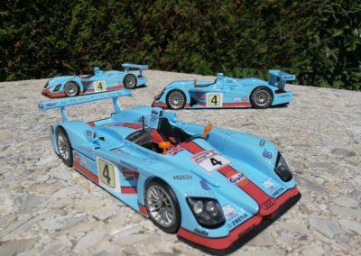 AUDI R8 GULF LM 2001