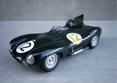 JAGUAR TYPE-D LM 1954 N°12 1/18