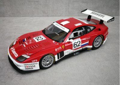 FERRARI 575 GTC BARRON CONNOR #62 LM 2004 1/18